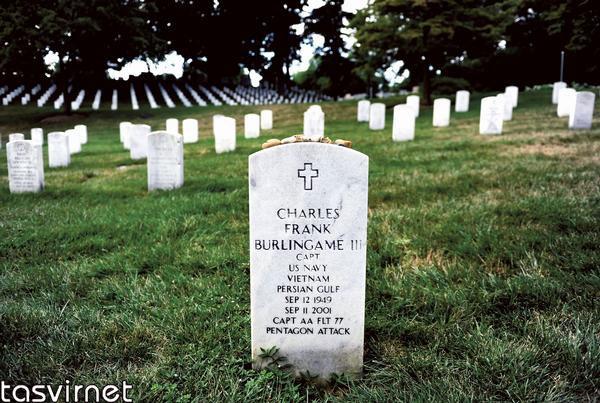 سروان چالز فرانک نظامی آمریکایی که در ویتنام و خلیج فارس خدمت کرده در 11 سپتامبر در ساختمان پنتاگون کشته شده است.