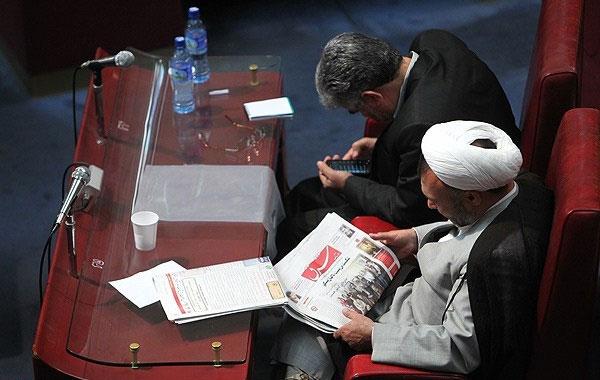 طرفداران علی لاریجانی ...