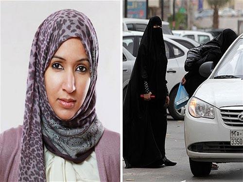 ناگهان ورق بر می گردد. منال الشریف ، تصویر [سمت چپ] در ماه مه 2011 دستگیر و به اتهام رانندگی و قرار دادن ویدئویی از این جرم  در فضای مجازی برای مدت 10 روز بازداشت می شود.