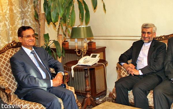 دیدار سعید جلیلی با عدنان منصور وزیر امور خارجه لبنان