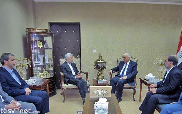 دیدار دکتر سعید جلیلی و فالح فياض مشاور امنيت ملی عراق