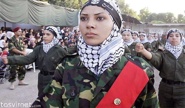 زنان هم در این مقاومت حضور فعال دارند