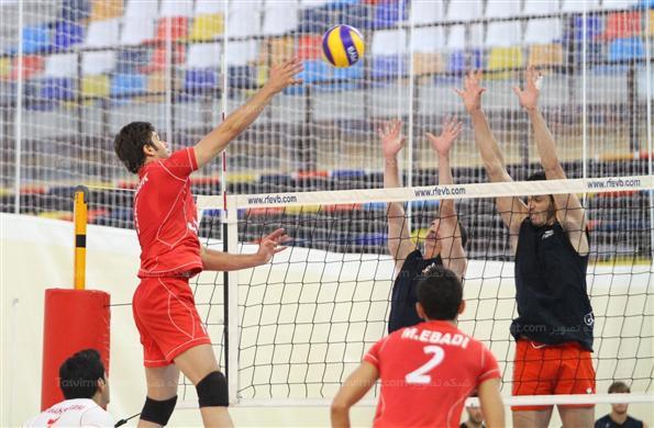 دیدارهای دوستانه تیم ملی والیبال جوانان ایران در اسپانیا