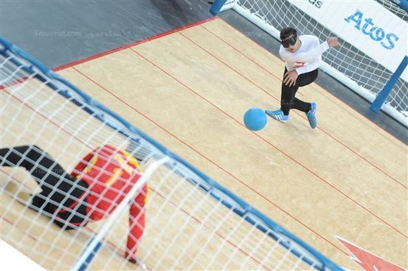 دیدار تیم های ملی گلبال ایران و چین