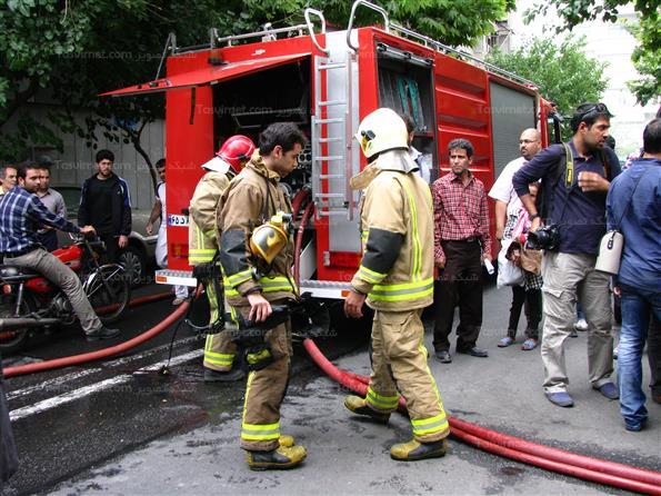 آتش سوزی در خوابگاه دانشجویی