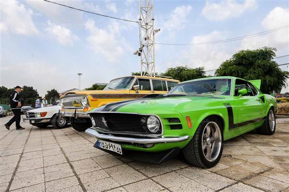 رالی ماشینهای کلاسیک