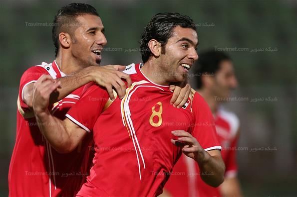 دیدار تیمهای سوریه و اردن