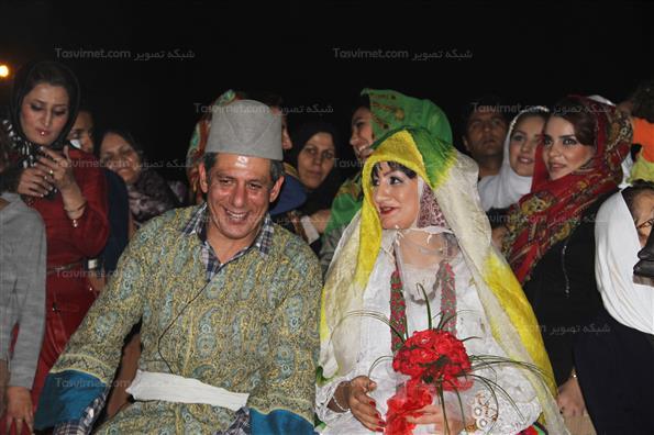 مراسم ازدواج دو تن از بهبود يافتگان اعتياد