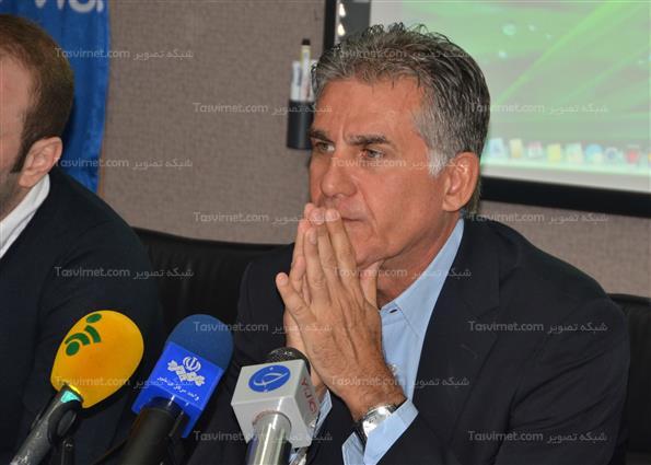 نشست خبری سرمربی تیم ملی فوتبال