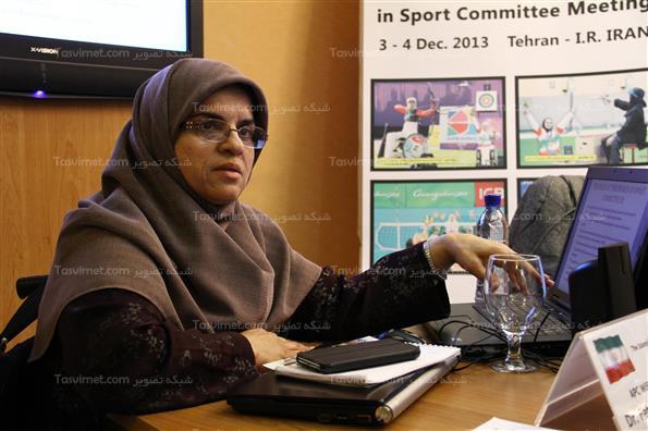 نشست کمیته بانوان پارالمپیک آسیایی