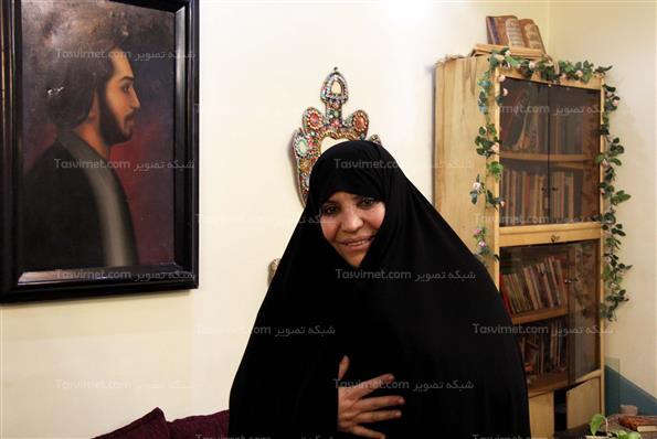 دیدار اصحاب رسانه با خانواده شهید نواب صفوی
