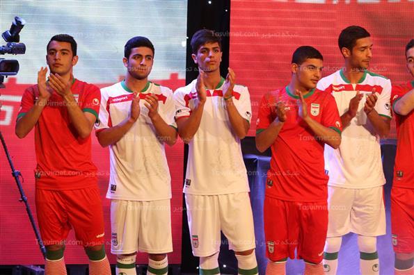رونمایی از لباس تیم ملی در جام جهانی 2014 برزیل