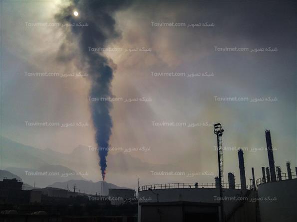 آلودگی هوا در عسلویه