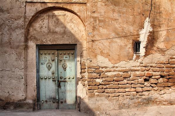 درب های چوبی قدیمی بوشهر
