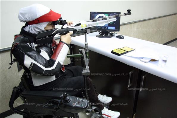 مرحله نهایی رقابت های تیراندازی جانبازان و معلولین