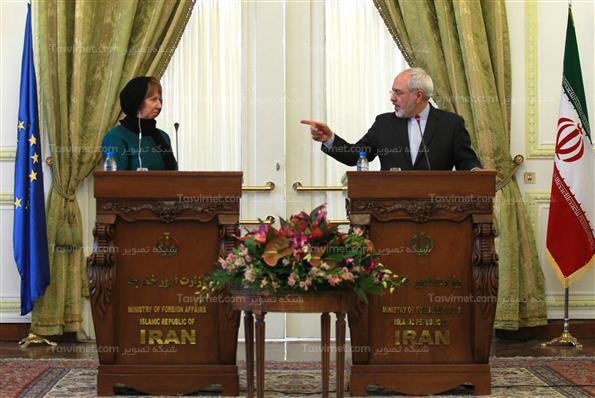 تی وی ورزش تاجیکستان دیدار کاترین اشتون با محمدجواد ظریف