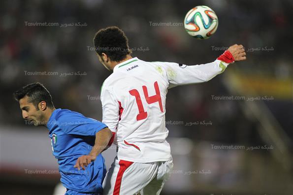 دیدار تیمهای ایران و کویت