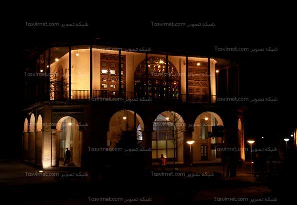 عمارت چهلستون در قزوین