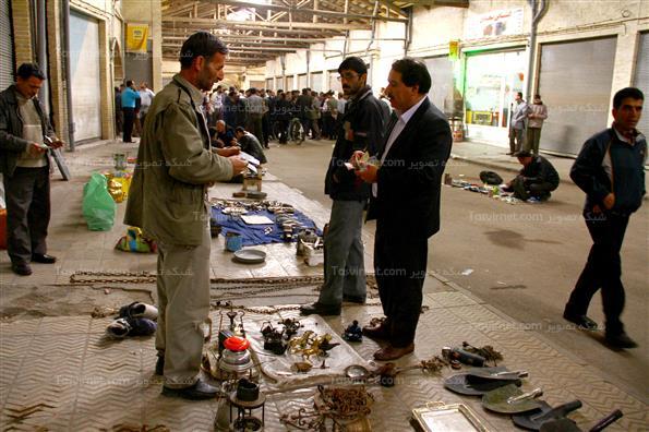 بازار عتیقه و کهنه  فروش های زنجان