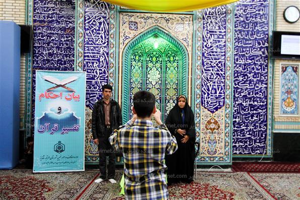 مسافران نوروزی امام زادگان