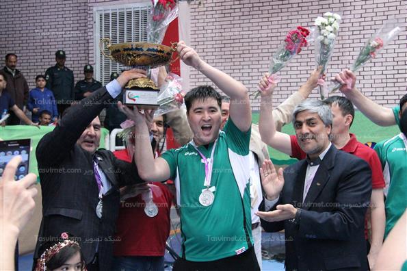 ایران قهرمان والیبال نشسته آسیا