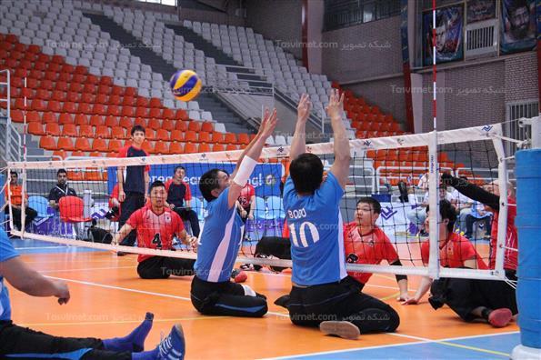 سومین روز مسابقات والیبال نشسته قهرمانی آسیا