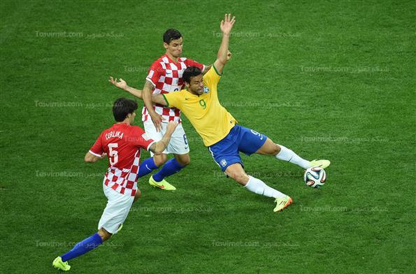 دیدار برزیل مقابل کرواسی