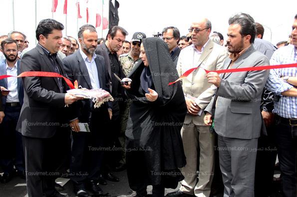 مراسم افتتاح پل غیر همسطح شهید لشکری