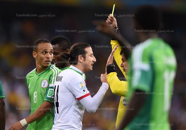 دیدارتیم های فوتبال ایران ونیجریه-جام جهانی برزیل