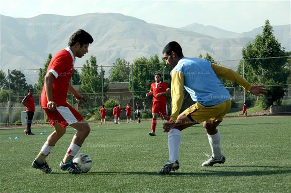 دیدار تیم ملی فوتبال معلولین ایران و منتخب تهران