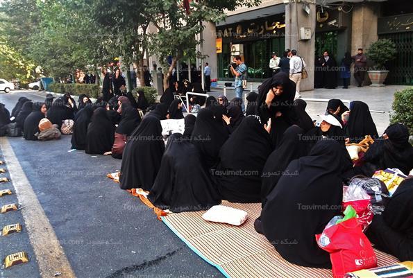 تجمع مربیان پیش دبستانی مقابل وزارت آموزش و پرورش