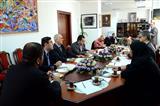 نشست هیئت رسانه ای با مسئولین خبرگزاری آذرتاج