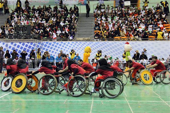 جشن بزرگداشت هفته پارالمپیک