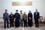 دیدار هیئت رسانه ای با نماینده ولی فقیه در باکو