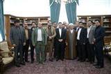 دیداراعضای جبهه متحداعتدالگرایان باآیت الله هاشمی