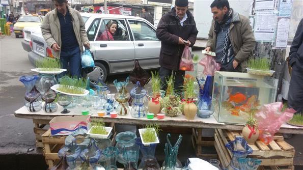 خرید نوروزی در مشگین شهر