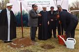 کاشت نهال توسط رئیسجمهور در آستانه روز درختکاری