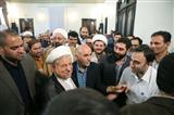 دیدار جانبازان و خانواده شهدا با هاشمی رفسنجانی