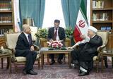 دیدار عبدالمنعم احریز در ایران با هاشمی رفسنجانی