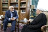 دیدار وزیرامور خارجه با رئیس مجمع تشخیص مصلحت نظام