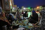 افطار روزه داران در امام زاده صالح (ع)