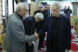 مراسم ختم حسین عرفانی در مسجد بلال صدا و سیما