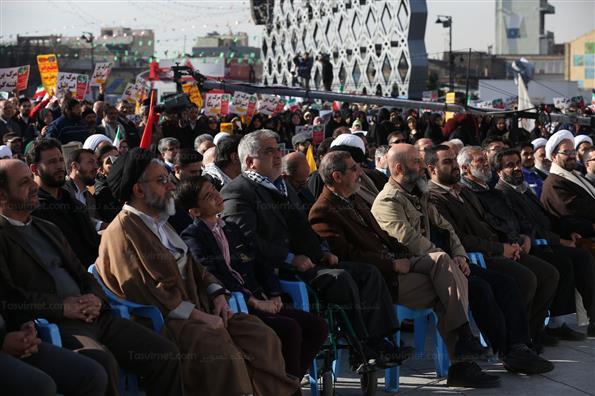 مراسم بزرگداشت ۹ دی در میدان امام حسین (ع)