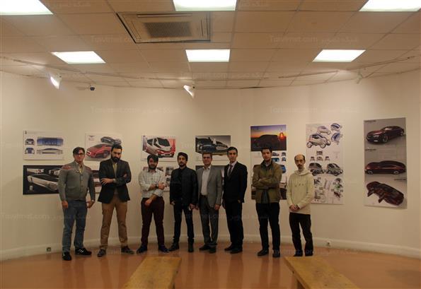 سومین نمایشگاه گروهی طراحی خودروهای کانسپت
