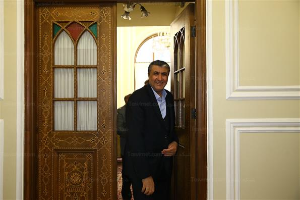 دیدار وزرای راه ، اقتصاد و کار با رئیس مجلس