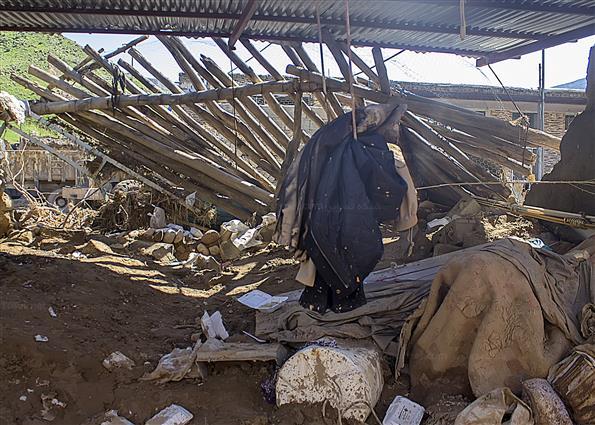 وضعیت روستاهای سیل زده استان لرستان