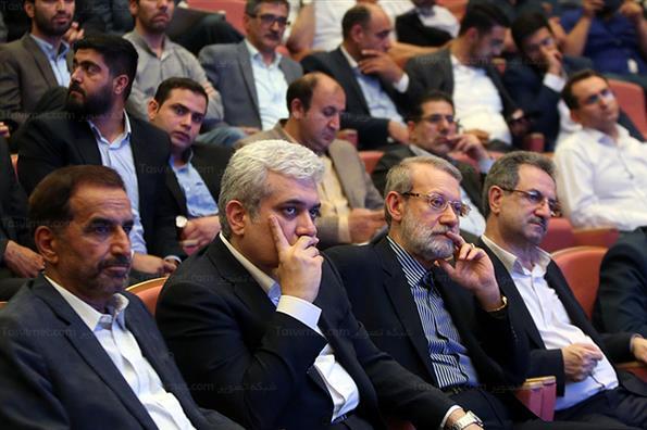 نشست مدیران و کارمندان شرکت های دانش بنیان و استارت آپی با رئیس مجلس شورای اسلامی