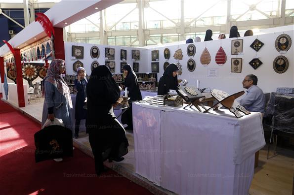 نمایشگاه عطر سیب