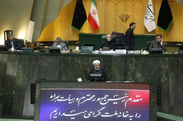جلسه رای اعتماد به وزرای پیشنهادی دولت با حضور رییس جمهور