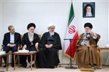 دیدار اعضای ستاد کنگره دو هزار شهید استان بوشهر با رهبر